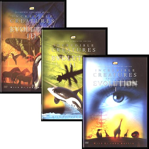 Incredible Creatures that Defy Evolution (3 DVD Set)
