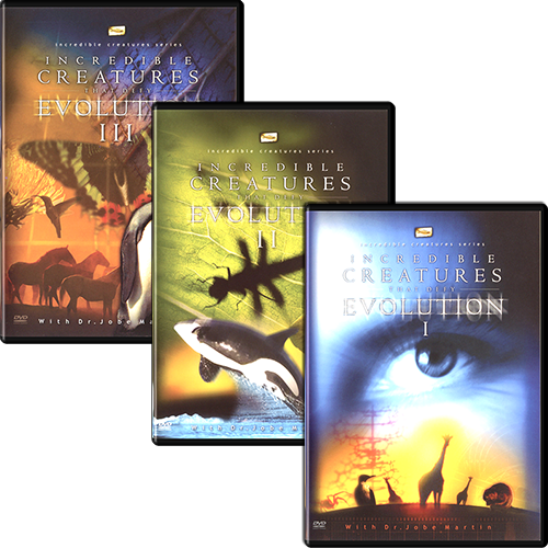 Incredible Creatures that Defy Evolution (3 DVD Set)