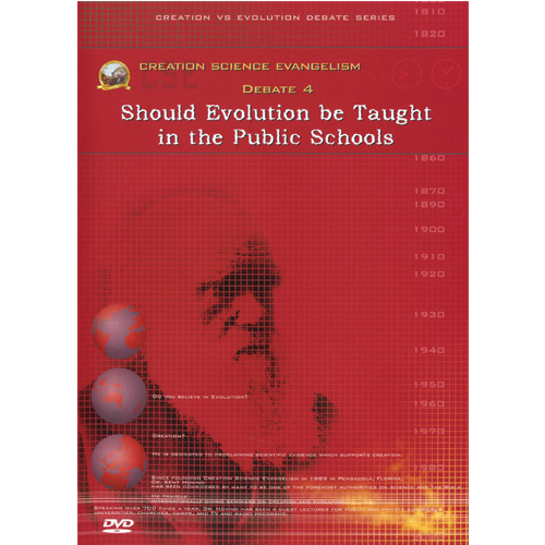 an argument that alternatives to evolution should not be taught in school Response: science should be taught in school the data, how it was achieved, what has been discovered--these are the backbone of science i personally don't mind if creationism is not taught i do think, however, that challenges to the evolution interpretation should be discussed, and the idea.