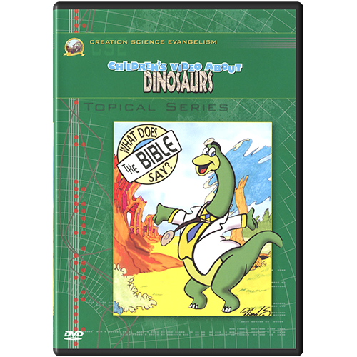 Children's Video About Dinosaurs DVD