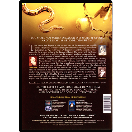Megiddo 2 - The New Age DVD back