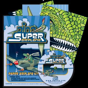 Preparing to Soar: Dino Super Airplane