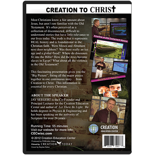 Creation to Christ: The Old Testament in a Nutshell back
