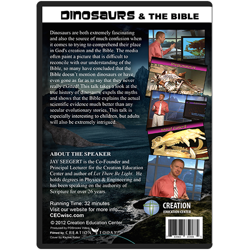 Jay Seegert's Dinosaurs & the Bible back
