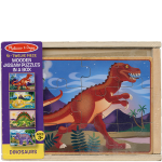 4 Puzzles in a Box - Dinosaurs