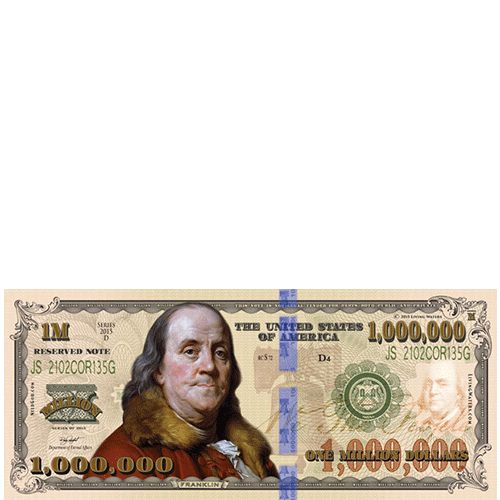 Million Dollar Bill Tract