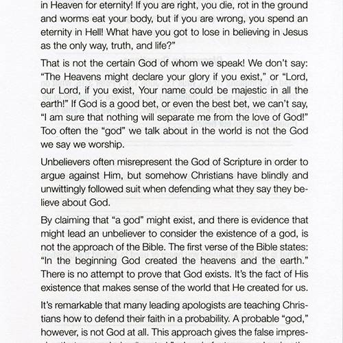 How to Answer the Fool: A Presuppositional Defense of the Faith DVD Study Guide page 4