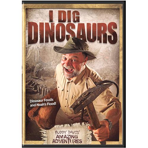 Buddy Davis' Amazing Adventures: I Dig Dinosaurs! DVD