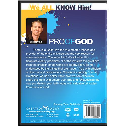 Proof of God Message DVD back
