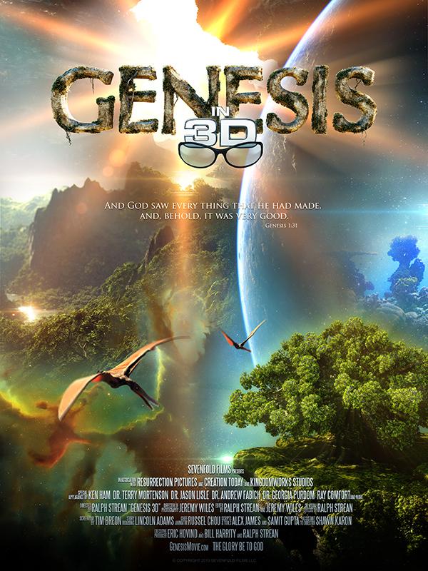 Genesis 3D Poster