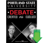 Portland State University Debate-Created vs Evolved (Video Download) 1