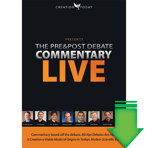 Pre & Post Debate Commentary: Bill Nye Debates Ken Ham (Video Download) (SD)