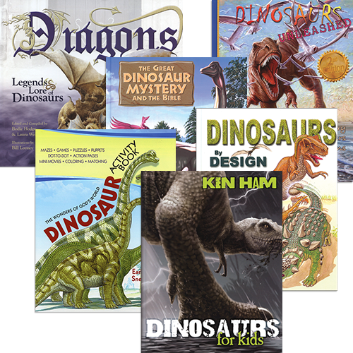 Children's Dinosaur Book Package