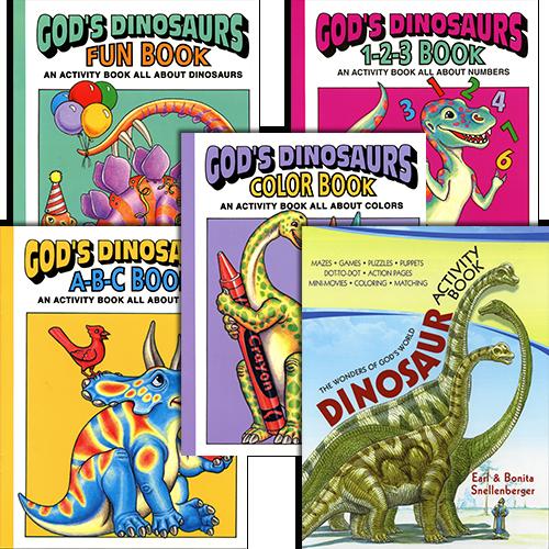 Children's Dinosaur Activity Package