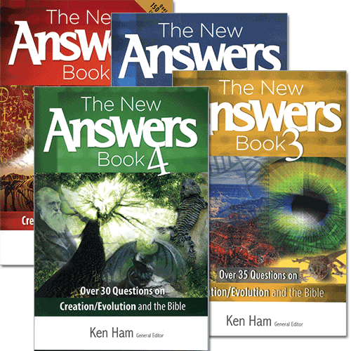 The New Answers Book Package