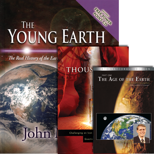 Case for a Young Earth Package