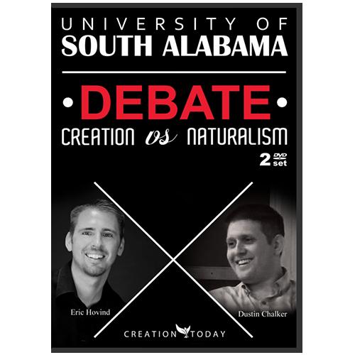 University of South Alabama Debate Creation vs Naturalism DVD