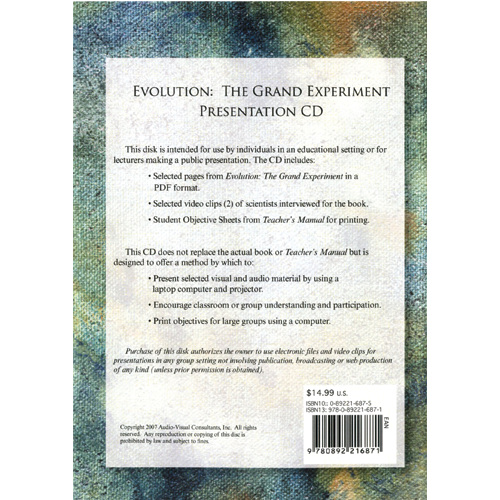 Evolution: The Grand Experiment  (CD ROM)