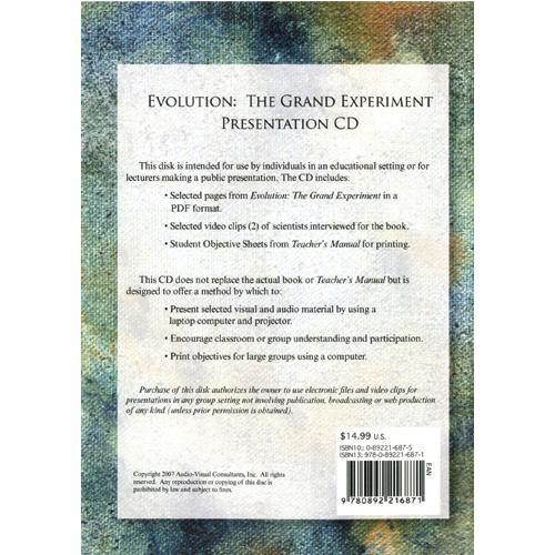 Evolution: The Grand Experiment  (CD ROM)