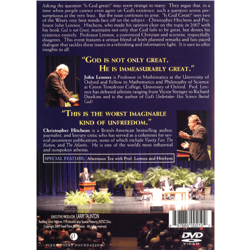 Is God Great Debate DVD