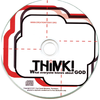 Think! Discover How You Can Prove To Anyone That God Exists (25 Audio CDs Tract Pack)