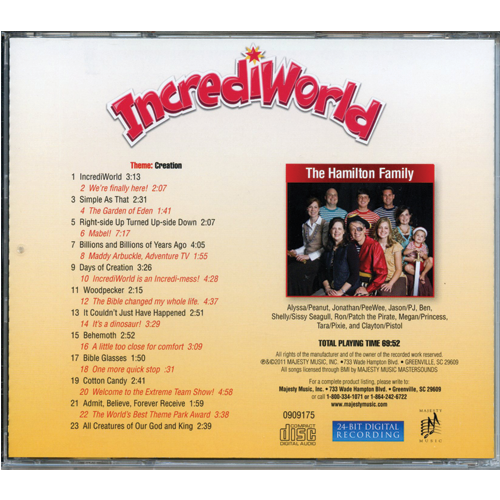 IncrediWorld (Audio CD)