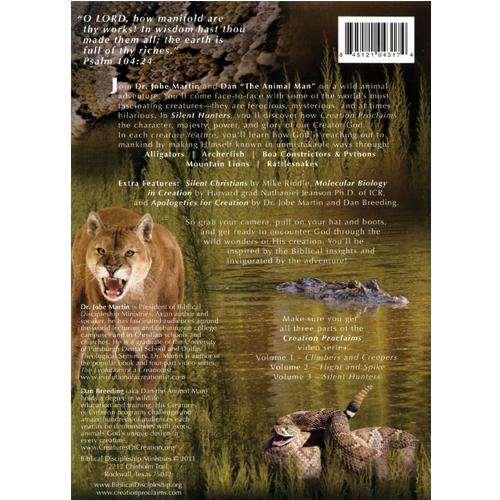 Creation Proclaims Silent Hunters Volume 3
