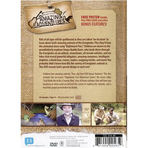 Buddy Davis' Amazing Adventures: Swamp Man! DVD