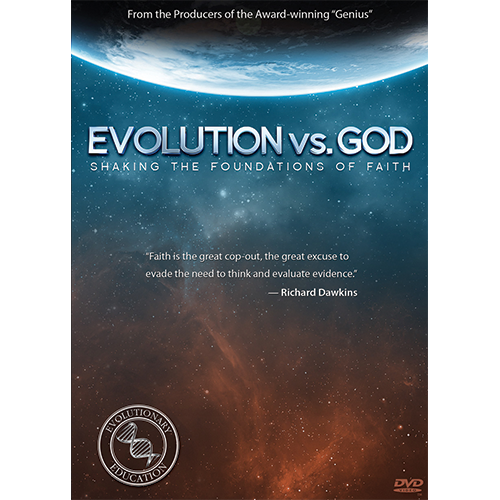 Evolution vs God - Shaking the Foundations of Faith DVD Tract Pack (10 DVDs)