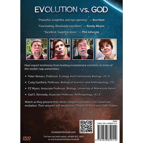 Evolution vs God - Shaking the Foundations of Faith DVD