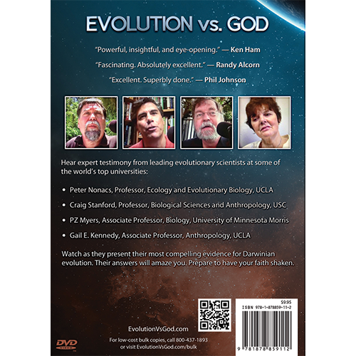 Evolution vs God - Shaking the Foundations of Faith DVD