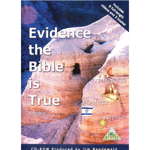 Evidence the Bible is True CD