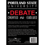 Portland State University Debate Created vs Evolved (Video Download)