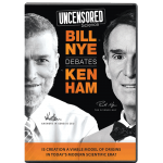Uncensored Science: Bill Nye Debates Ken Ham: DVD (with a Free Download)
