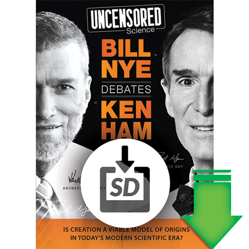 Uncensored Science: Bill Nye Debates Ken Ham: Download (SD)