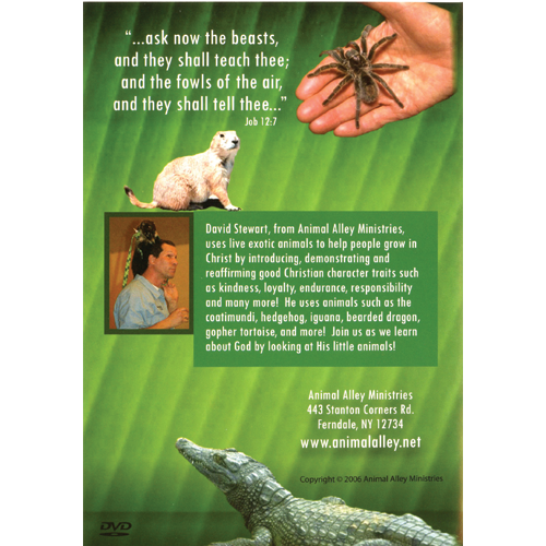 Lessons from God's Little Creatures DVD