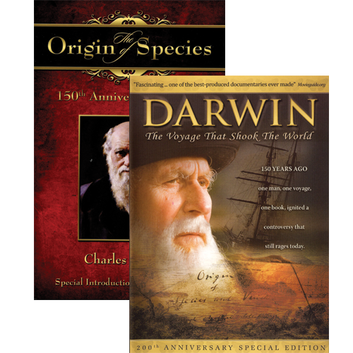 Darwin: The Voyage That Shook the World w/free book