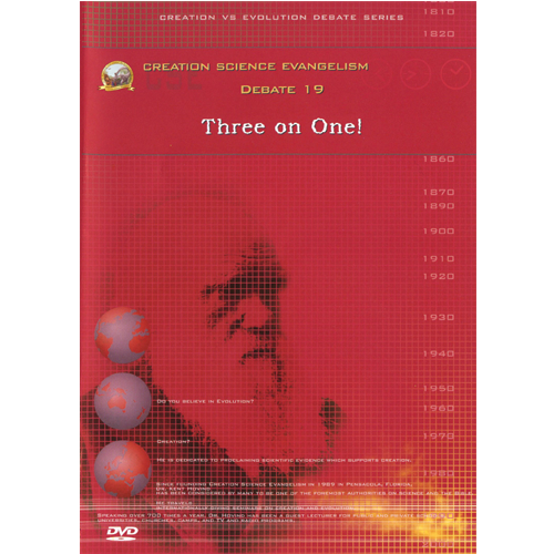 Debate DVD #19 - Three on One!