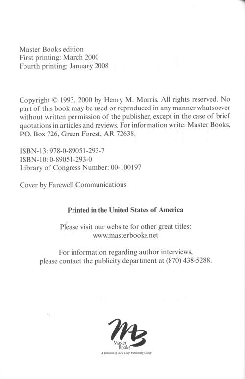 Biblical Creationism eBook (EPUB, MOBI, PDF)