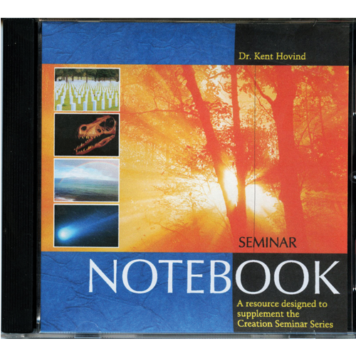 Seminar Notebook on CD