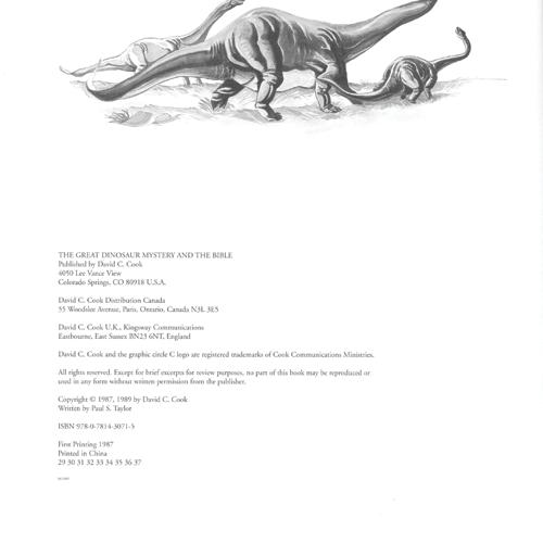 The Great Dinosaur Mystery