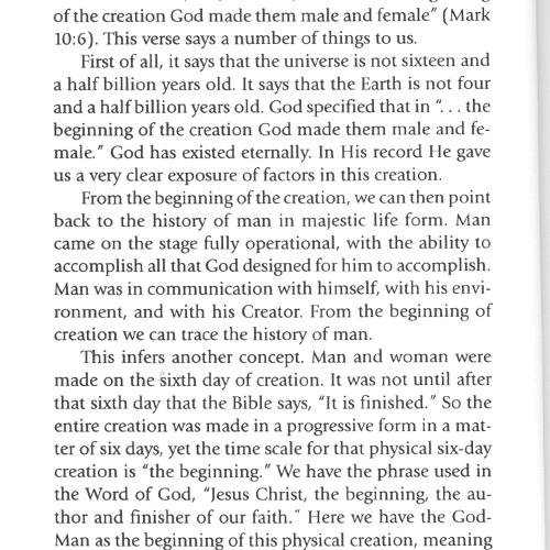 Panorama of Creation