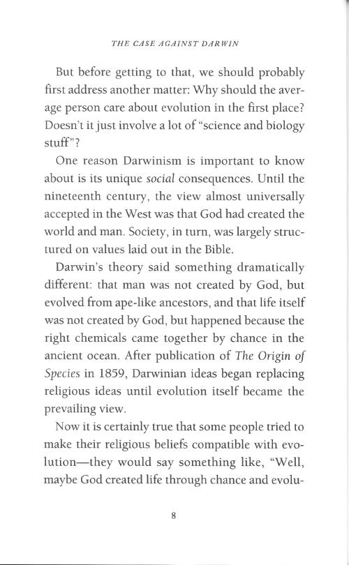The Case Against Darwin