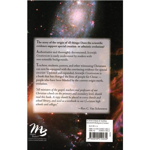 Scientific Creationism eBook (EPUB, MOBI)