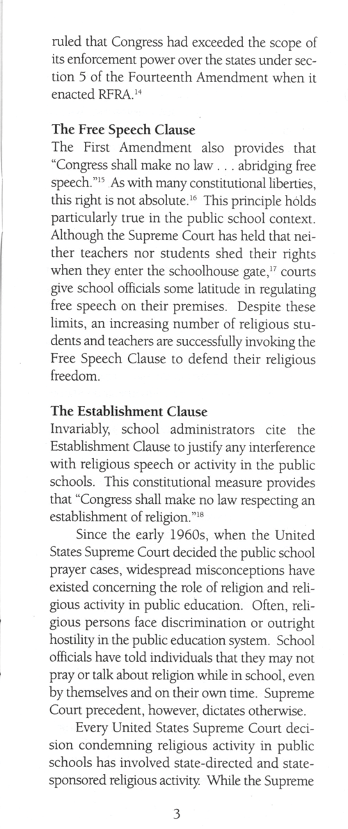 Students' Rights in Public Education