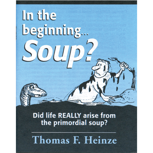 In the Beginning... Soup? Tract (25 Pack)