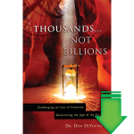 Thousands...Not Billions eBook (EPUB, MOBI, PDF)