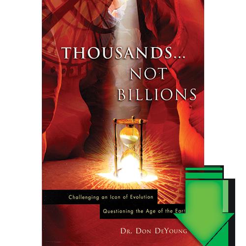 Thousands...Not Billions eBook (EPUB, MOBI, PDF)