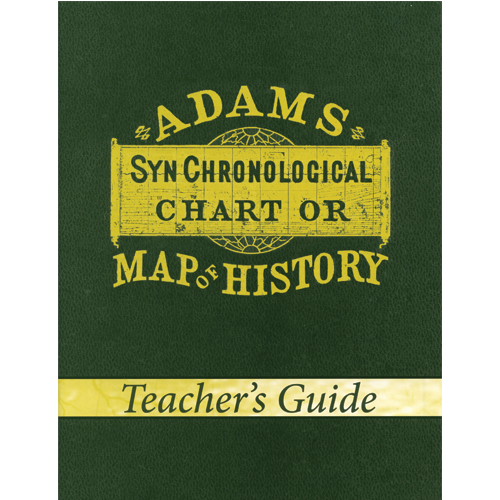 Adams' Chart of History Teacher's Guide