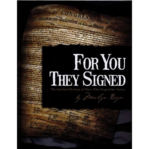 For You They Signed